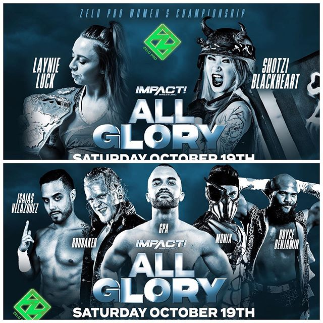ICYMI: In 3-weeks we're rounding up a bunch of friends and throwing the biggest party with @impactwrestling! 🔥 #AllGlory 🔥  Ticket link in bio 🎟