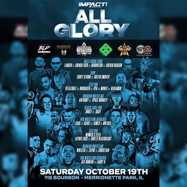 Full line-up announced for @impactwrestling's #AllGlory! 🎟 Link in bio