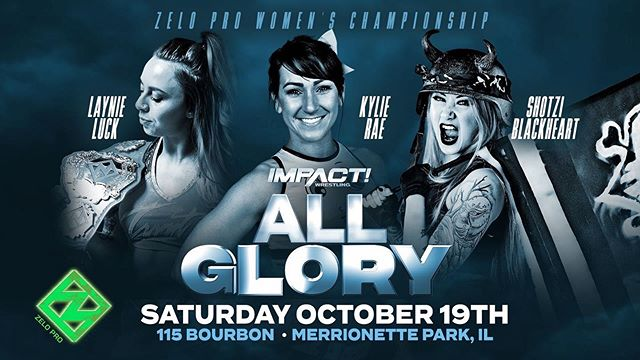 BREAKING: @iamkylierae returns to action under the Zelo Pro banner as she invokes her rematch clause for the Women's Championship at #AllGlory!
