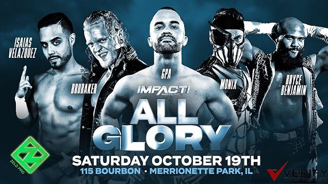 We are 1-week away from @impactwrestling's #AllGlory which will take Chicago by storm ⚡️ . . . Tickets available while supply lasts    link in bio.