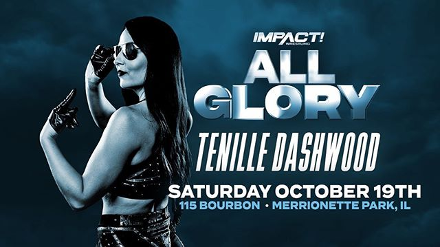 BREAKING: Rhino & @tenilledashwood will be at #AllGlory this Saturday, along with many more @impactwrestling stars! Get your tickets today    link in bio.