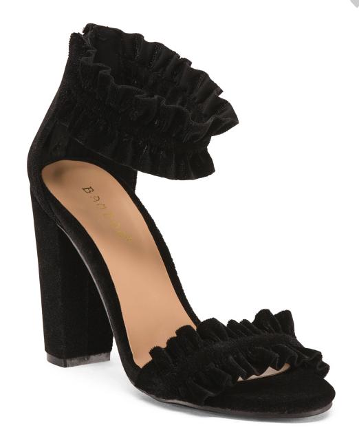 Ruffle Heels