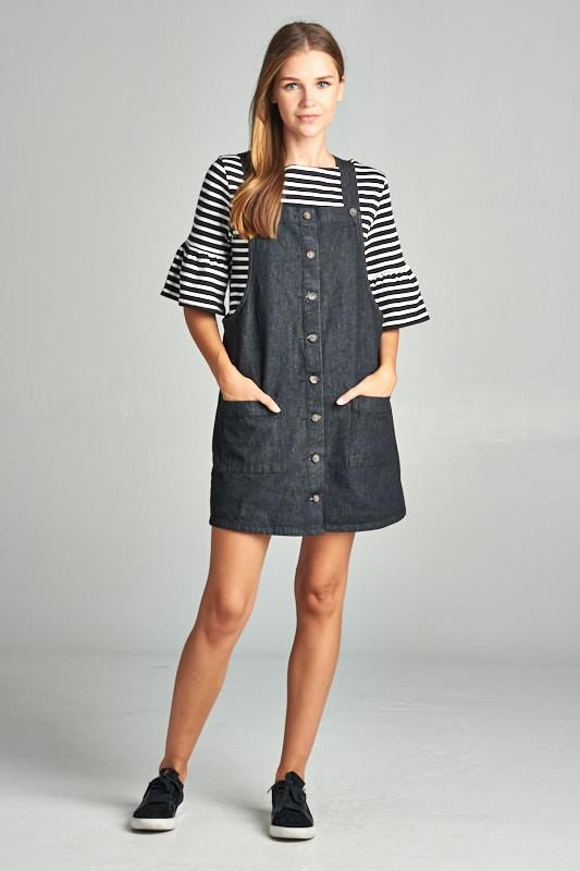 Simple Overall Dress