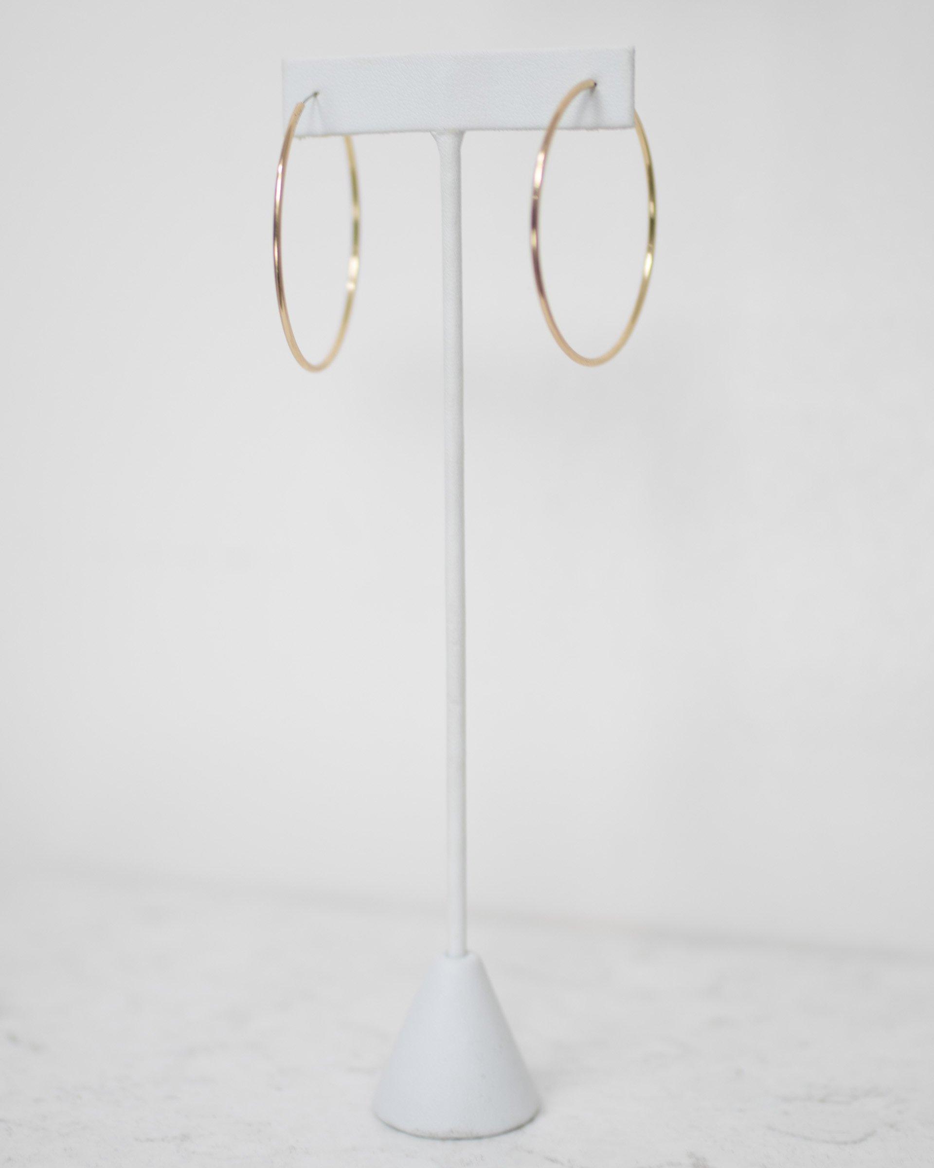 Simple Hoop Earrings