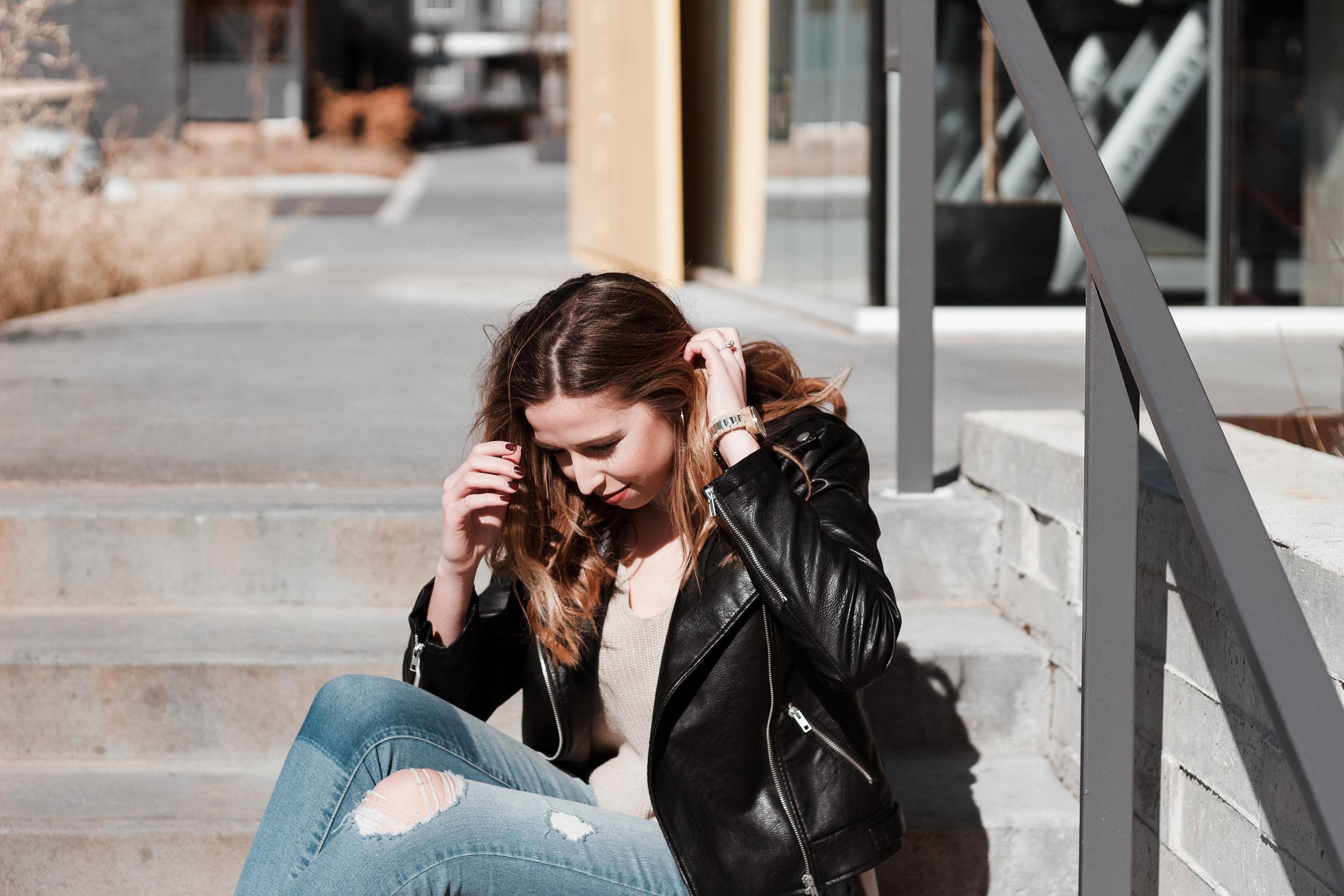 Leather Jacket Lovin' | The Simplistic Chic
