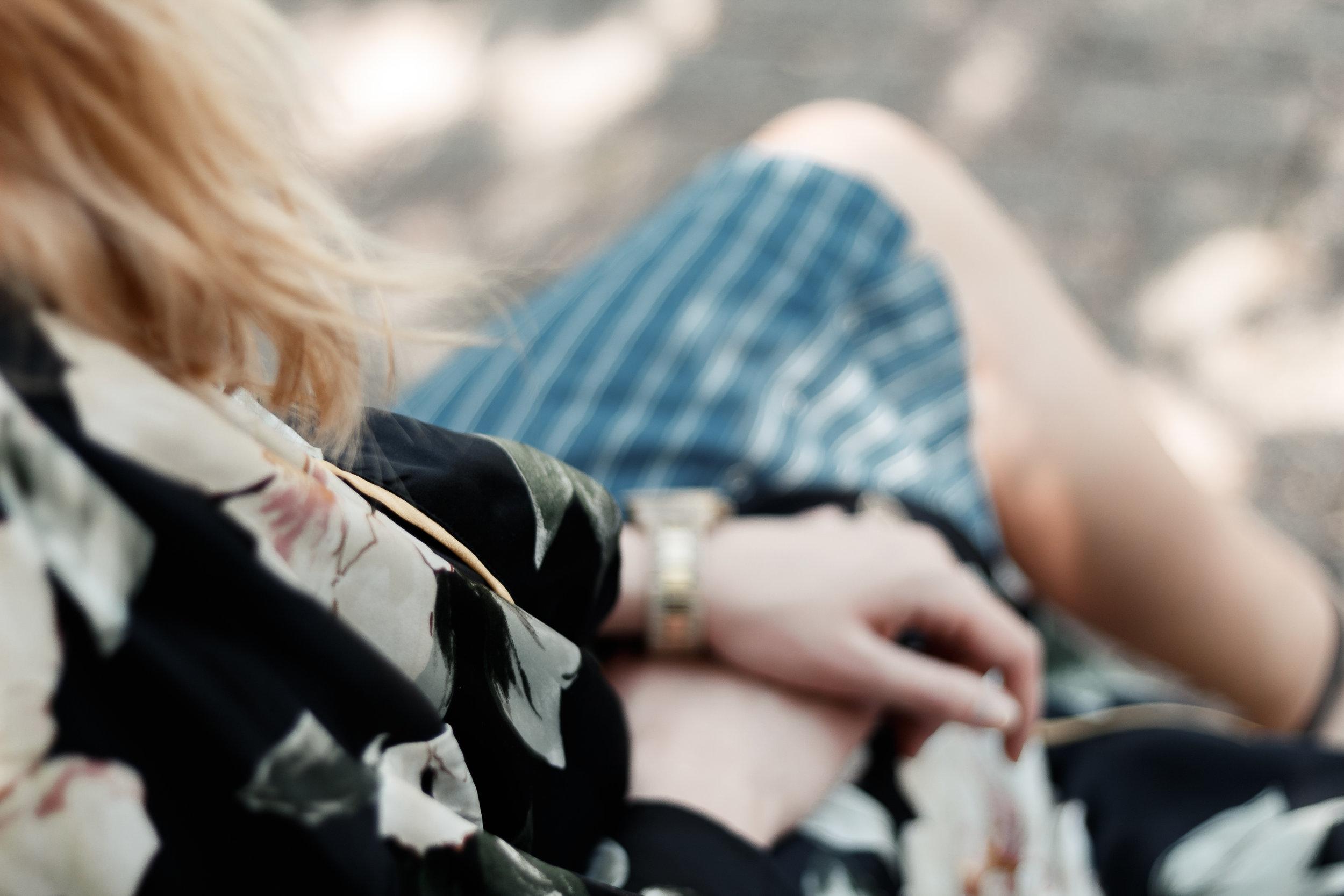 Stripes + Floral   The Simplistic Chic