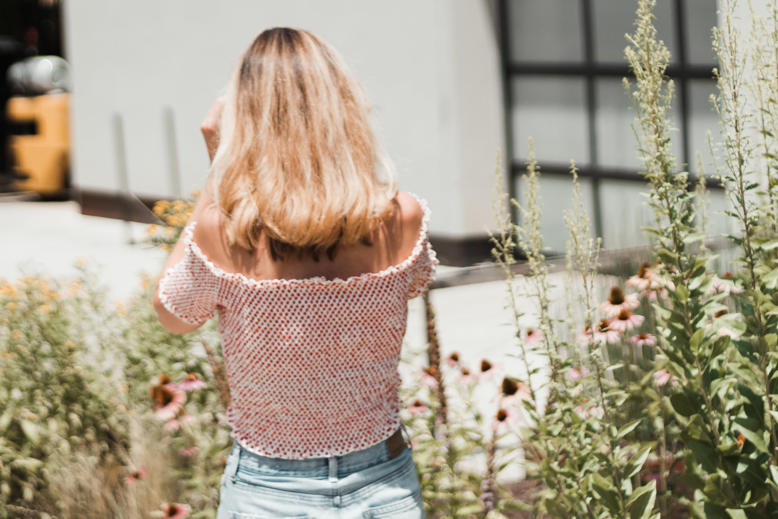 Off The Shoulder Top | The Simplistic Chic
