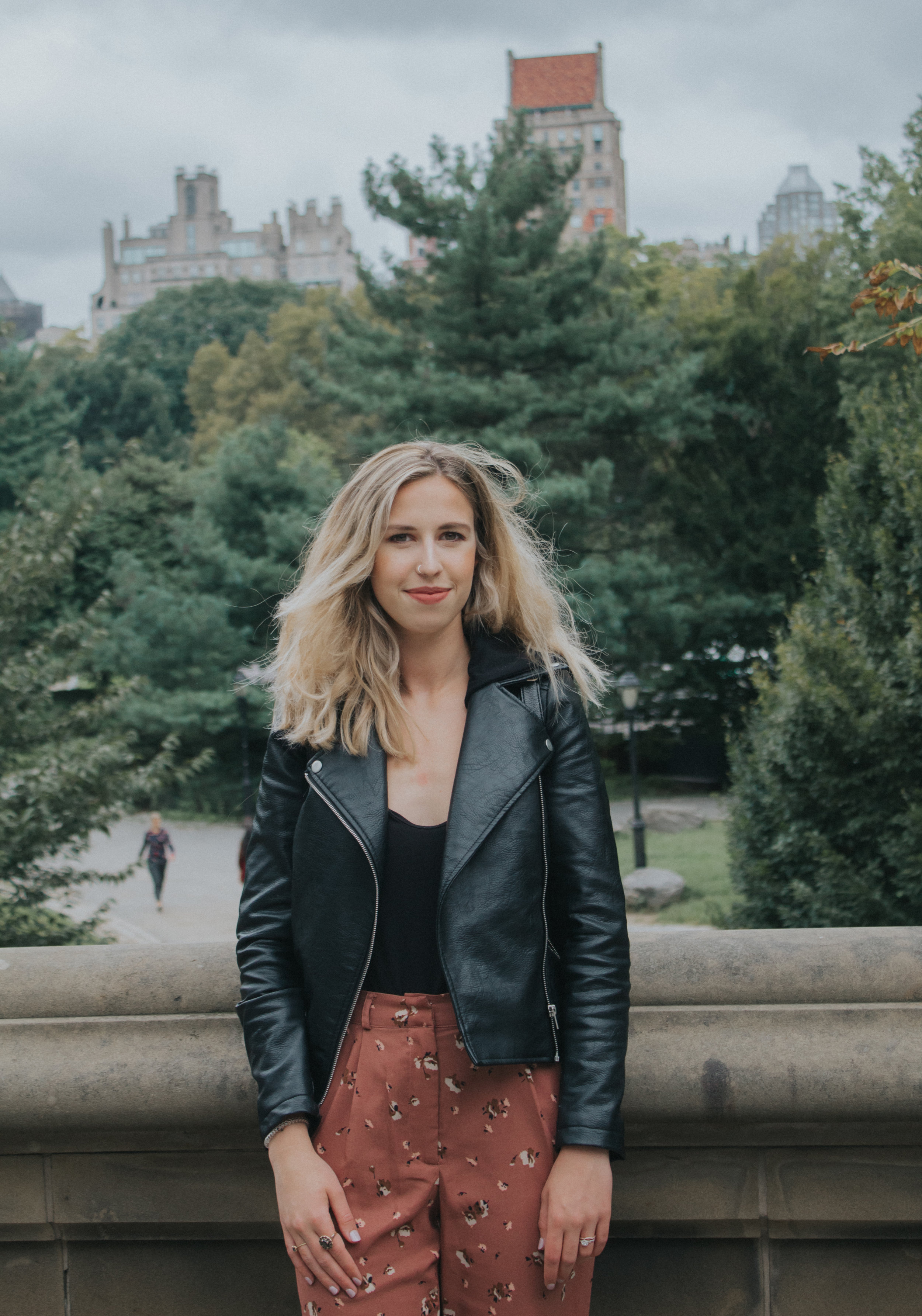 Floral in Central Park | The Simplistic Chic