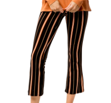 Cropped Stripe Pant