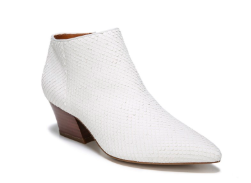 Franco Sarto White Booties