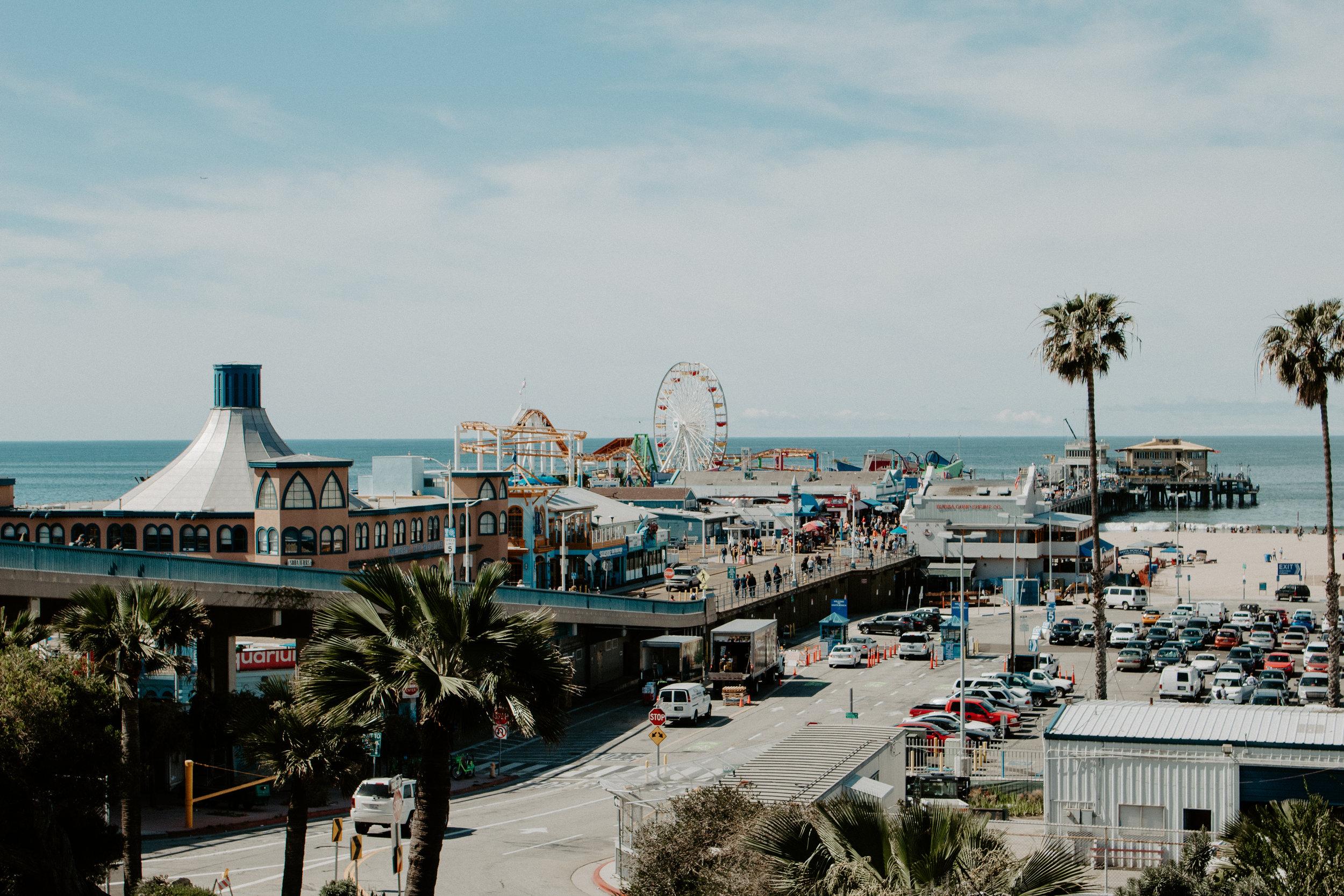 Santa Monica Pier + LA Places | The Simplistic Chic
