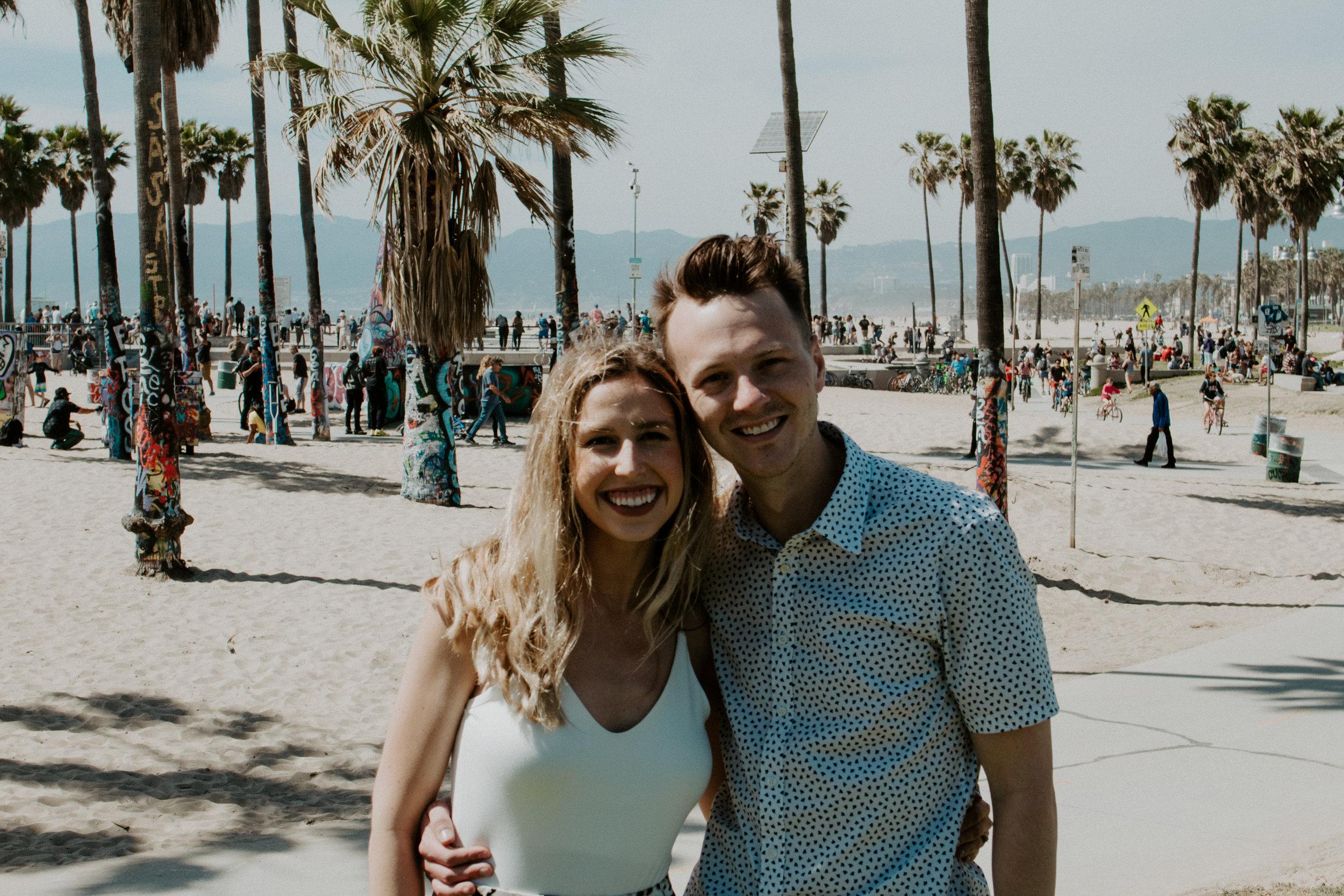 Venice Beach + LA Places | The Simplistic Chic