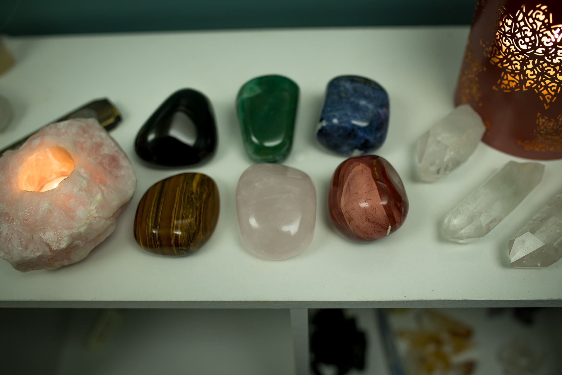 Chakra Crystals for session