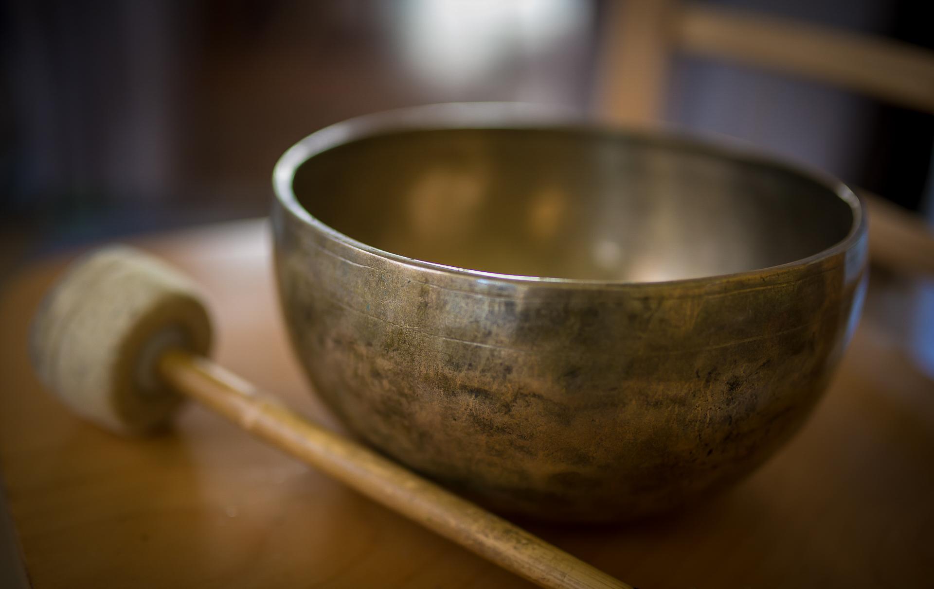 Sound healing with Tibetan Singing Bowl