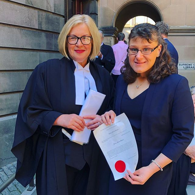 Guess who got admitted to the Supreme Court of Victoria today? ⚖️ Congratulations to my big sister @ivanamblekic on overcoming many obstacles and finishing your #undergrad and #postgrad studies. Your officially a Lawyer!!! You've shown all those who said it wasn't possible and shown that you can enjoy that rural lifestyle in the process. So proud of you! 💜  #proudsistermoment #lawyer #melbourne #supremecourt #law #sister #admission #happy #proud #sultanasisters #malleedriedfruits