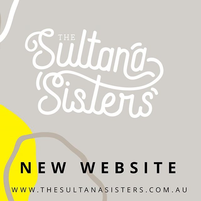 We're Live! NEW WEBSITE! Stay tuned for our blog posts... #sultanasisters #mallee #mildura #thesultanasisters #youthinag #womeninag #entrepreneurship #startup #business #website