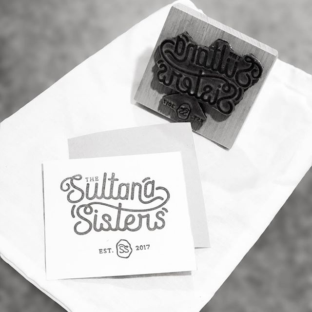 Thanks @woodruffandco for our #handmade #stamp ... we love it!  #thesultanasisters #sultanasisters #sustainable #womeninag #design #business #mallee