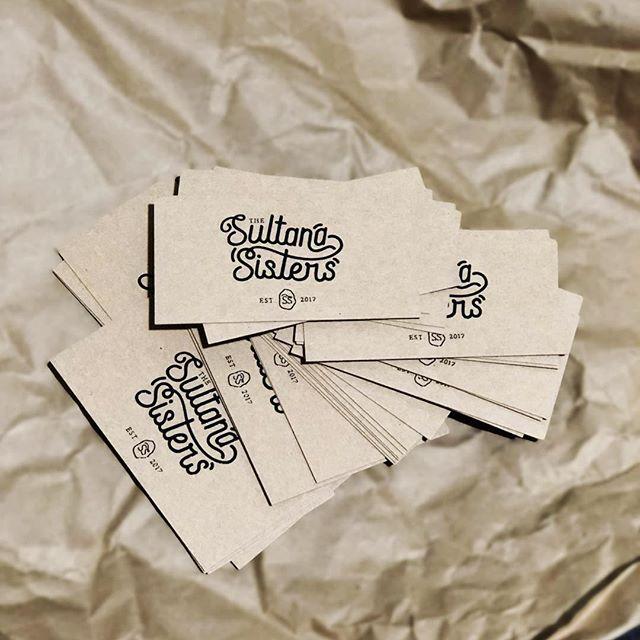 New Kraft Business Cards are here 🙌  #thesultanasisters #sultanalife #sultanalovinghuman #businesscards #womeninag #youthinag #mallee #kraft