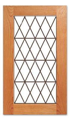 Tudor Cabinet Glass Insert