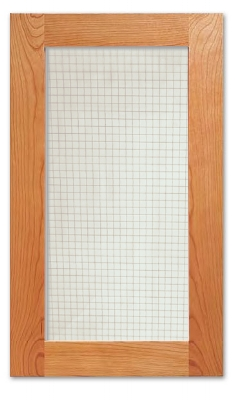 Country Farm Cabinet Glass Insert