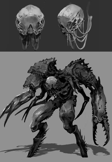 The updated Crabman design.