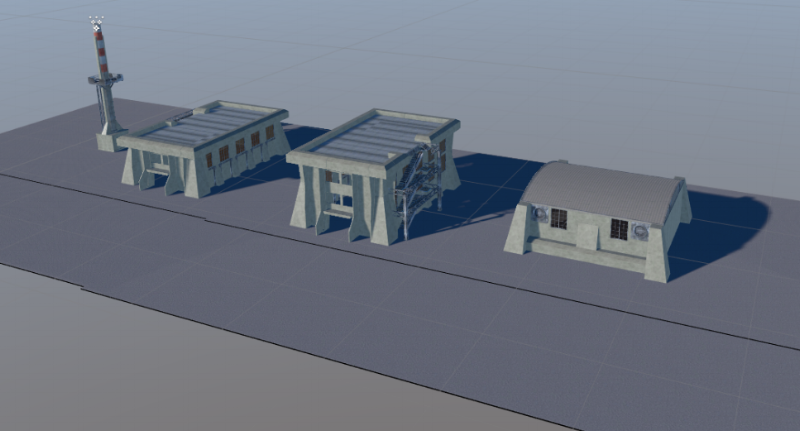 Here are a few different New Jericho factory buildings.
