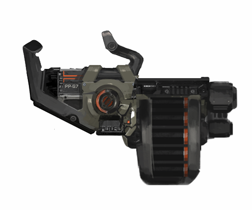 The Phoenix Project Grenade Launcher