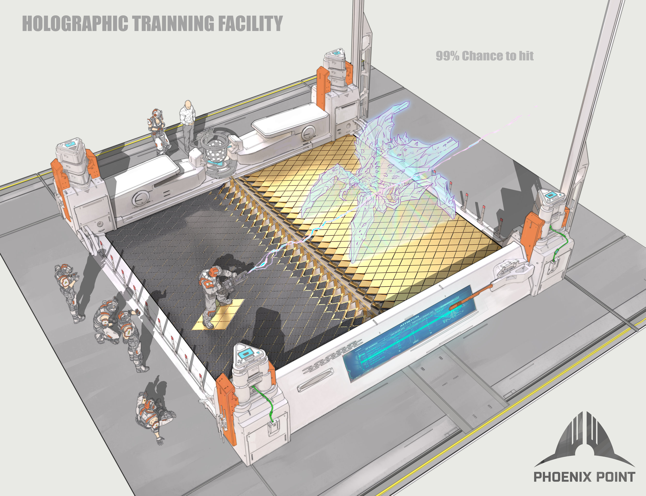The holographic training facility