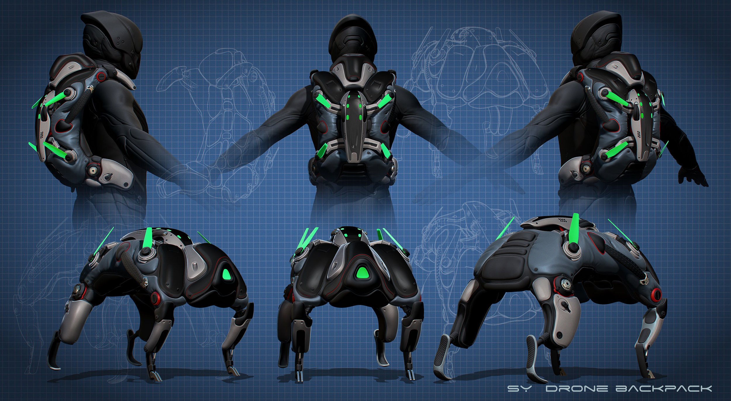 Synedrion Drone Backpack