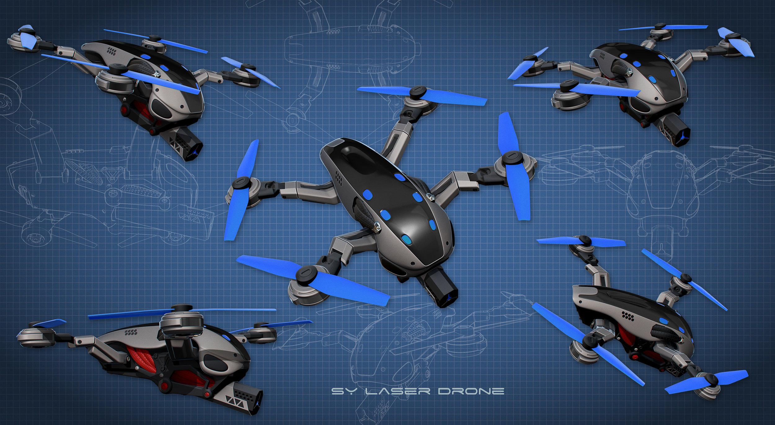 Synedrion Laser Drone.
