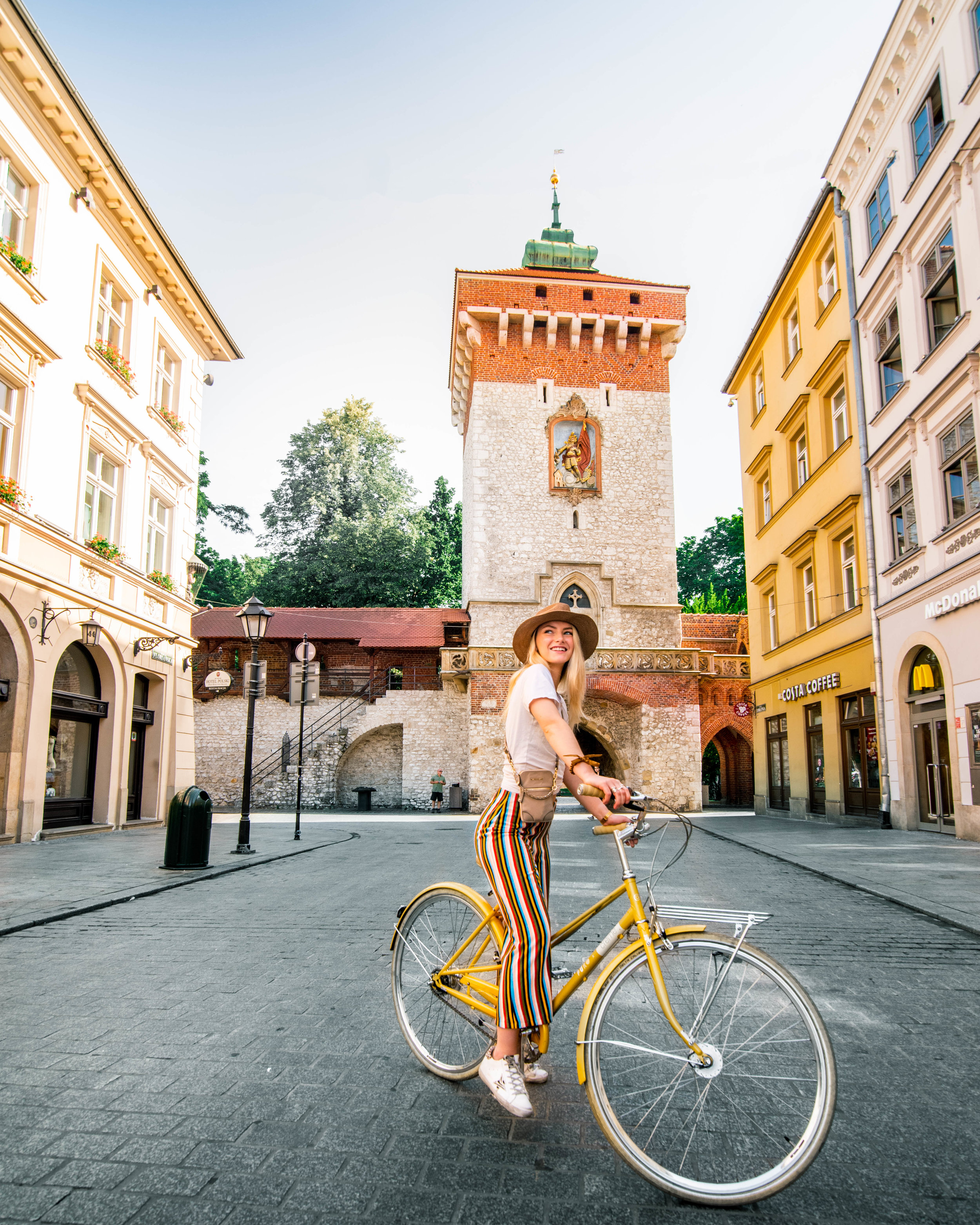 There are so many beautiful squares and parks so walking or biking around is the perfect way to explore! Make sure you grab a traditional Polish doughnut or a ponczek to fuel you ;)