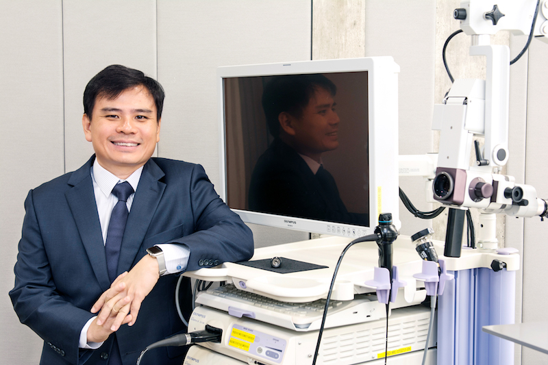 Dr. Han Hong Juan, Consultant ENT Surgeon - Dr Han Hong Juan's experience includes minimally invasive and office-based surgical treatment for a wide variety of ear nose throat conditions. In addition, his subspecialty expertise is in advanced surgical treatment of snoring and obstructive sleep apnea, voice and swallowing disorders, including the use of Laser and Robotic surgery.