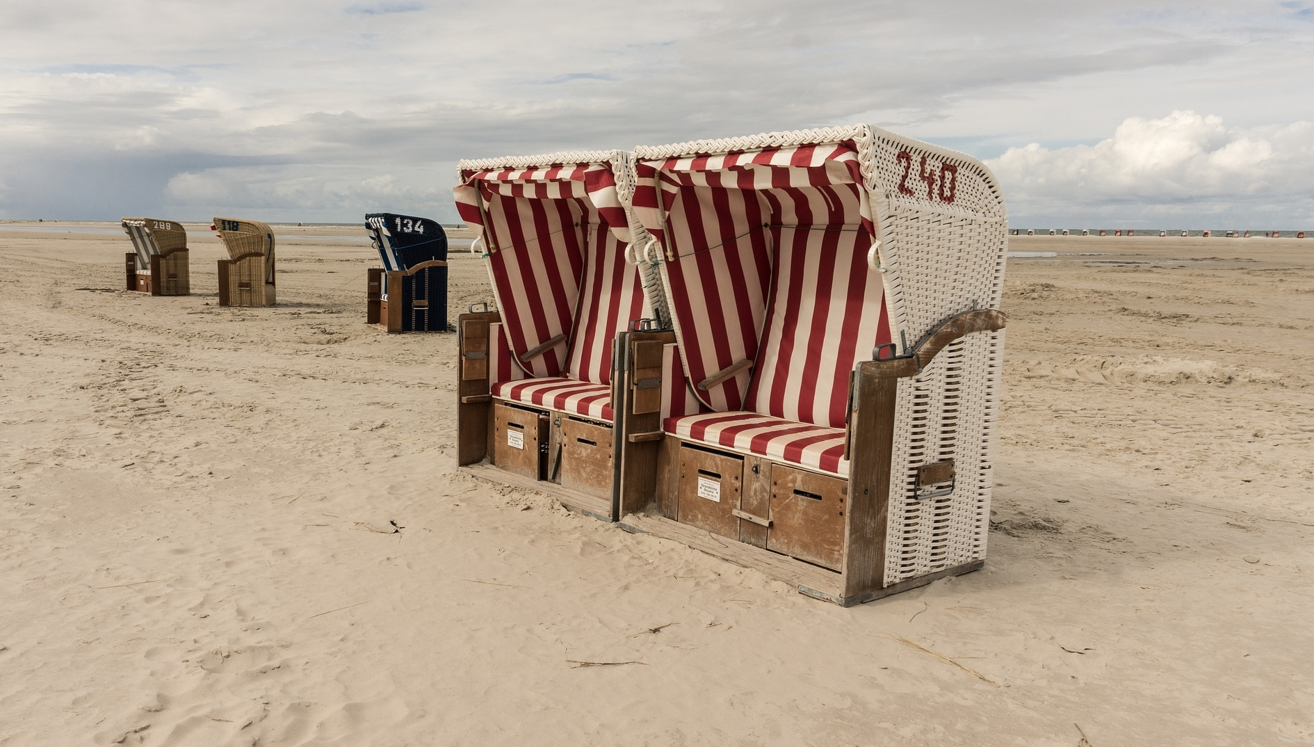Famous Strandkorb on Amrum