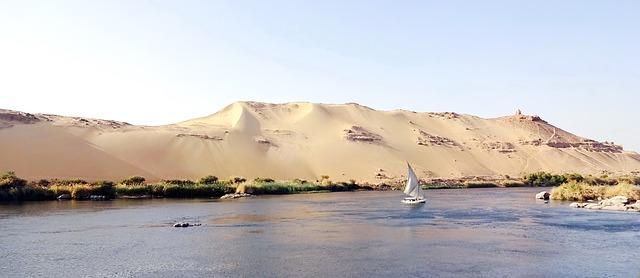 aswan on the river nile