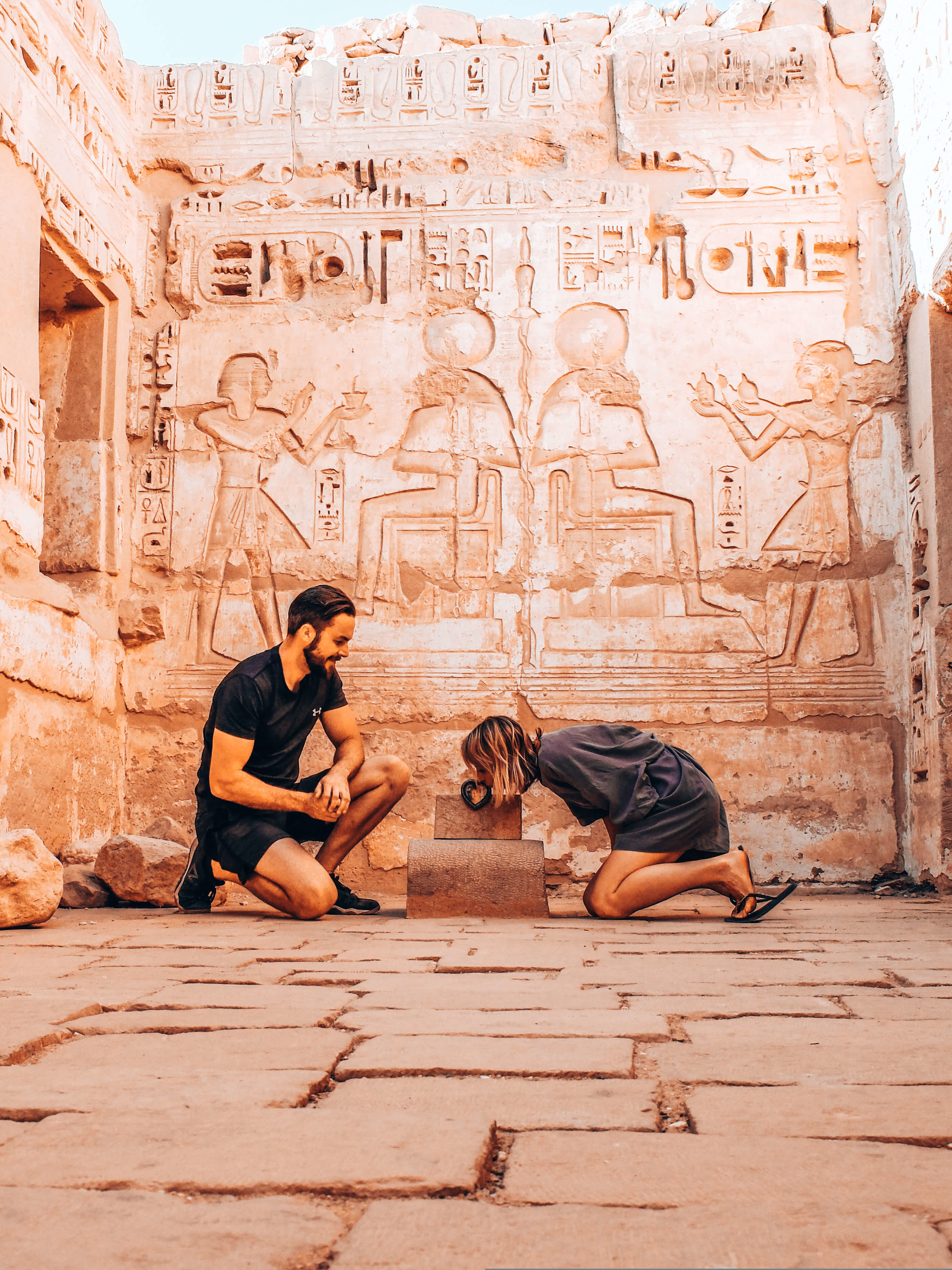 Temple of Medinet Habu - exploring is our job :-)