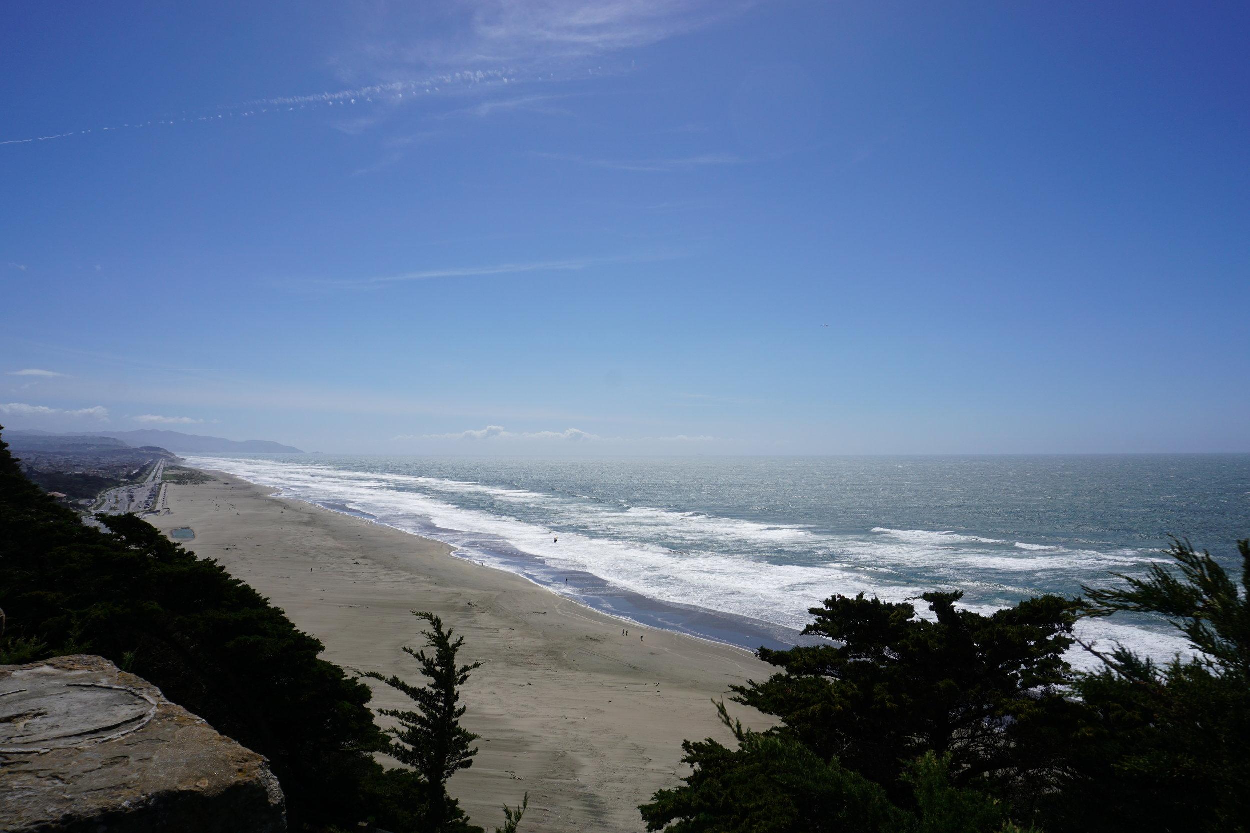 Ocean Beach, San Francisco, CA. Photo by me.