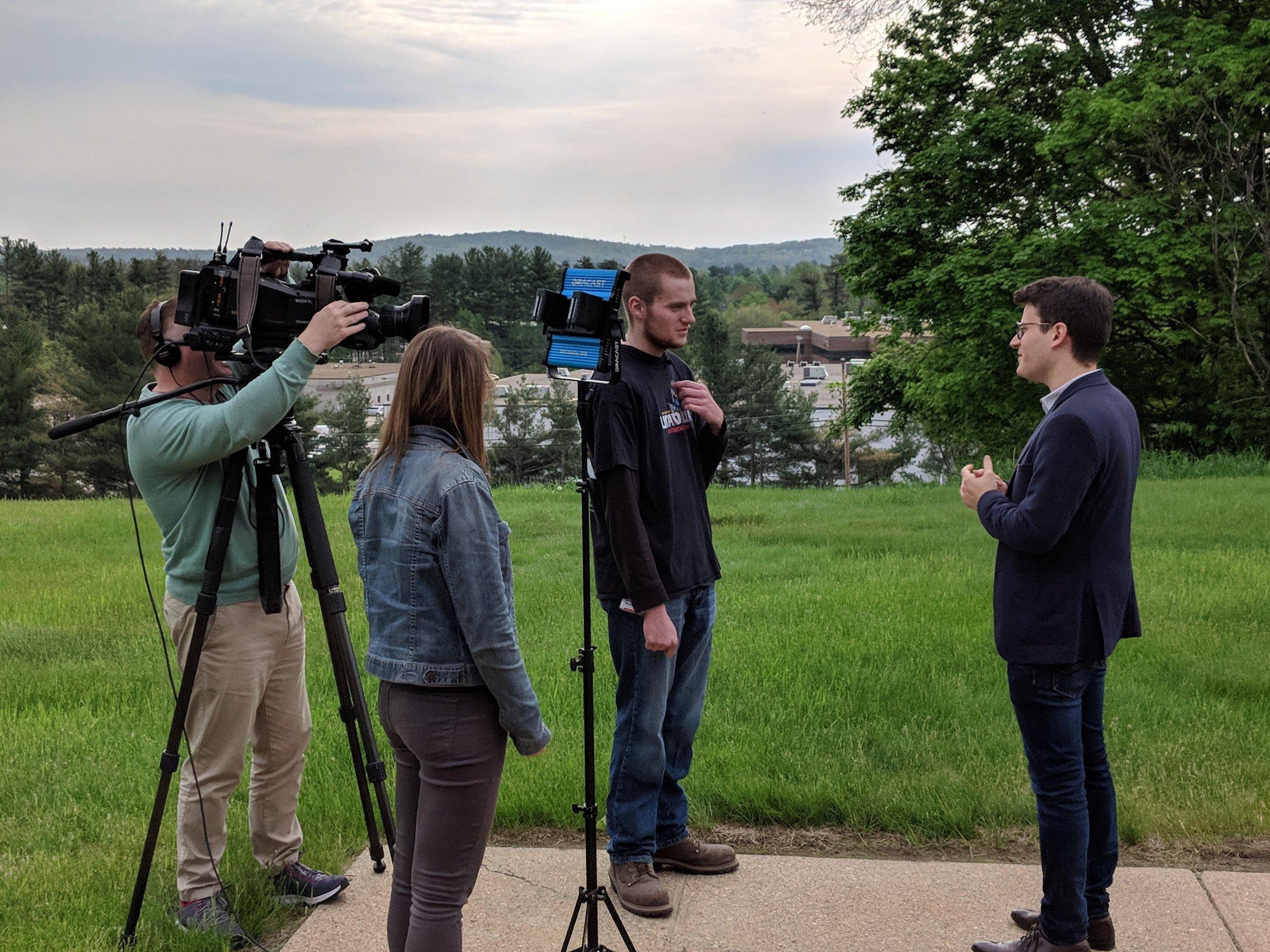 BBC News interview