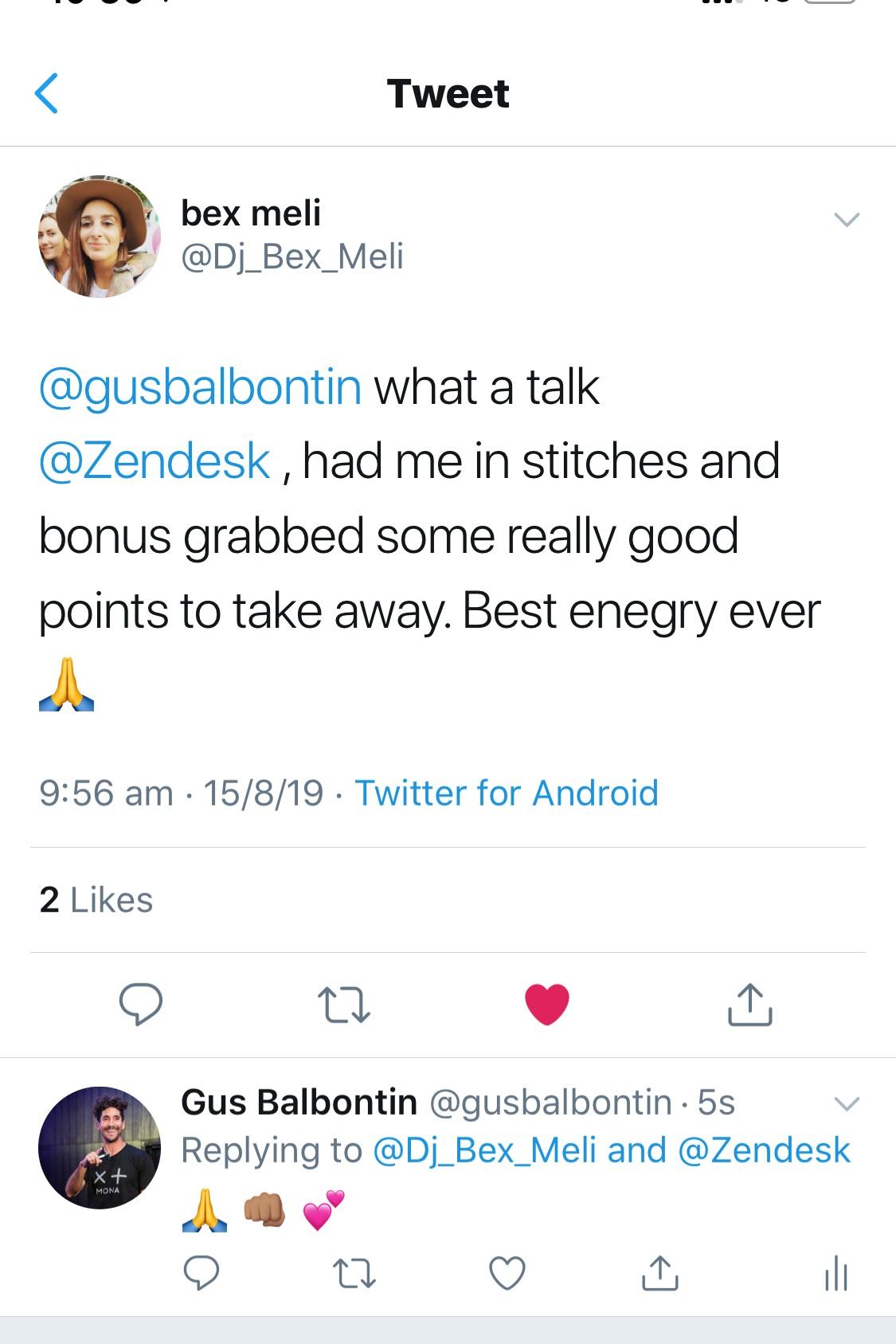 """Best energy ever"""
