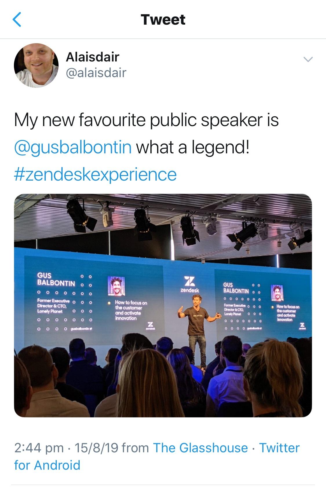 """My new favourite public speaker"""