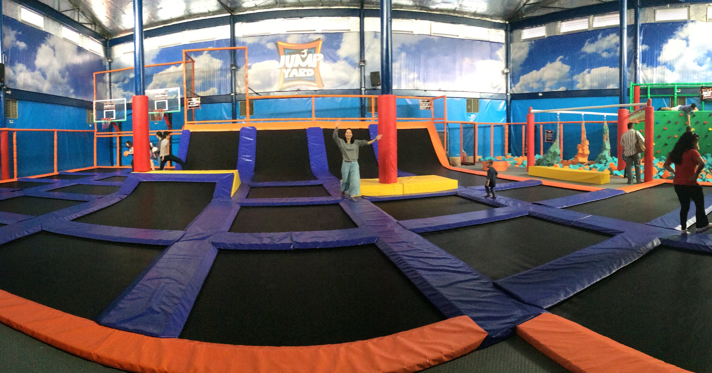 Manila Has Everything Jump Yard Indoor Trampoline Park A Momma Abroad