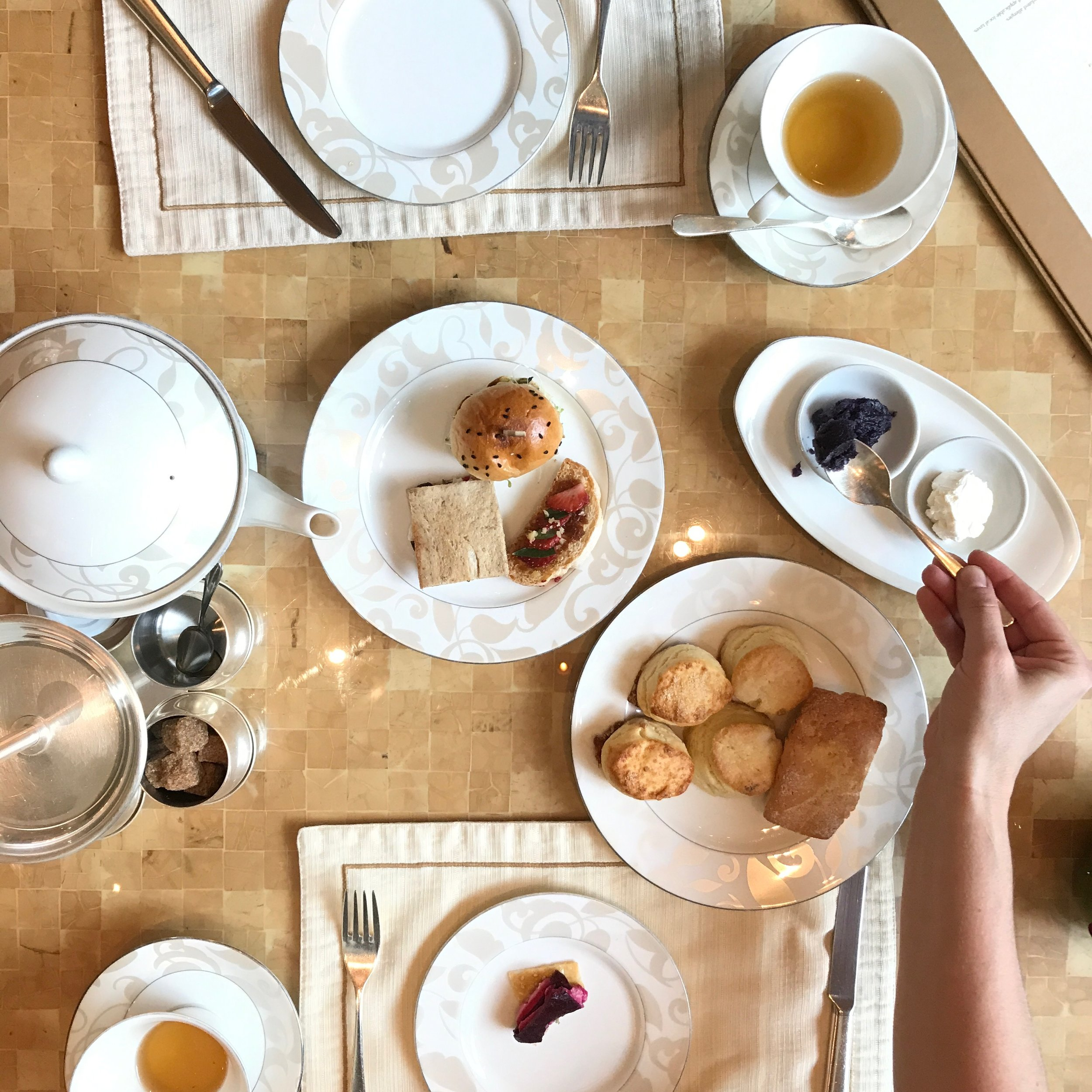 HIGH TEA - SHANGRI LA