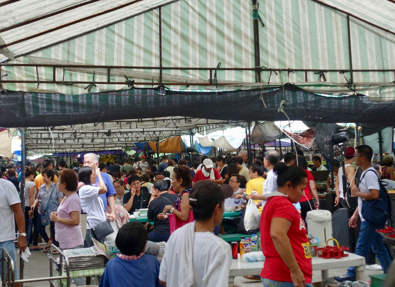 Sea Of Tents And Patrons -