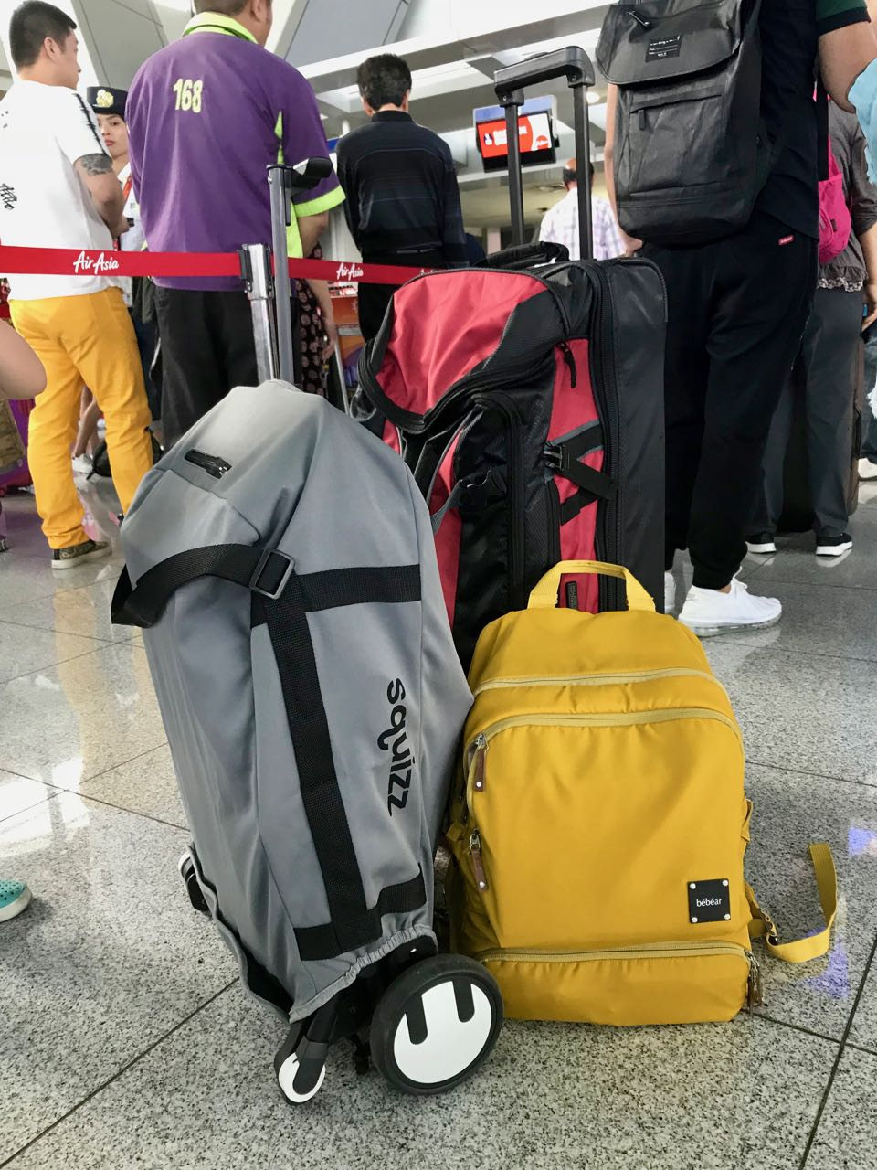 Gear - travel stroller, backpack, duffle bag