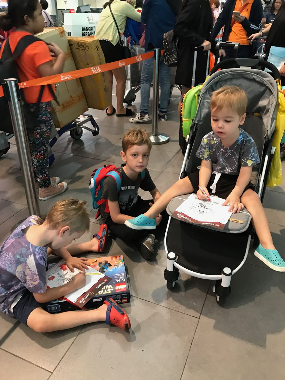 - More than a stroller. Also, more waiting...