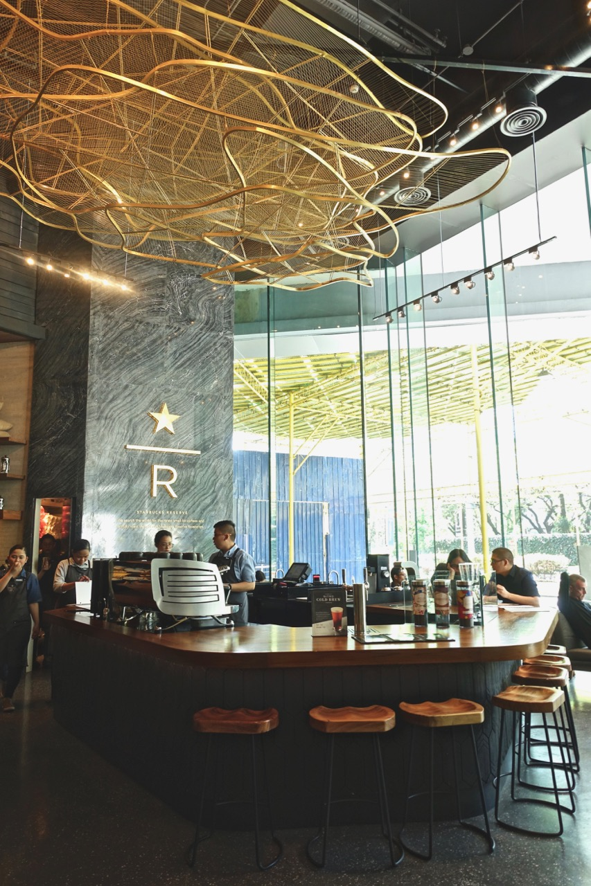 Starbucks Reserve - I know nothing about coffee but the fanciness of this place makes me think they certainly do