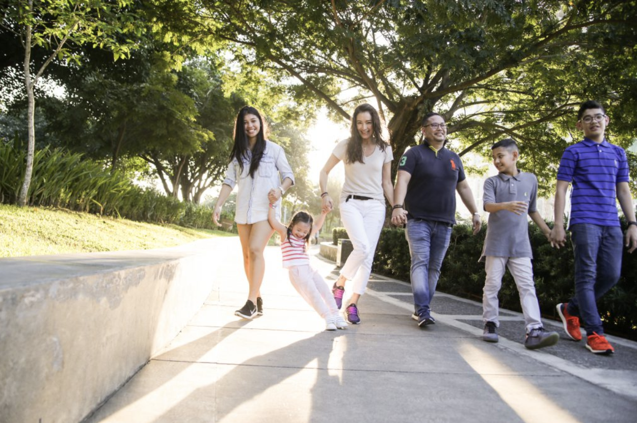 Radiant Michelle and Family -
