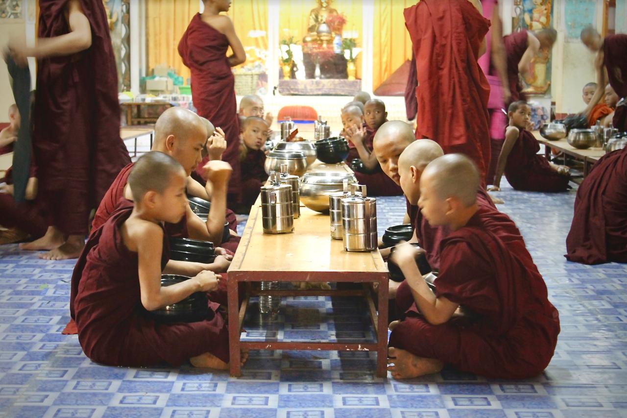 monks + breakfast