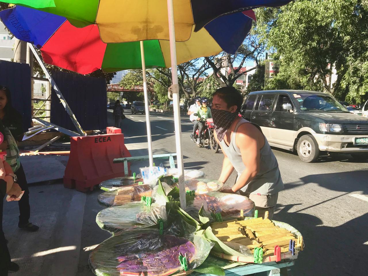 Kuya Pogi - and his kakanin cart