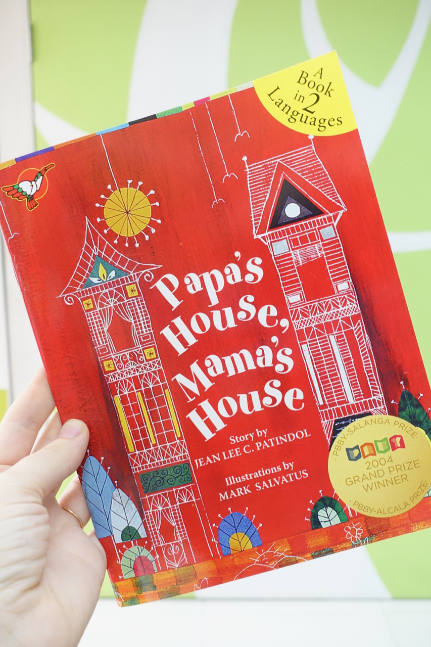 Papa's House, Mama's House - I was impressed that adarna house doesn't shy away from hard life topics such as split families and living with separate homes as this title shows. Some other topics were poverty, bullying and adoption.