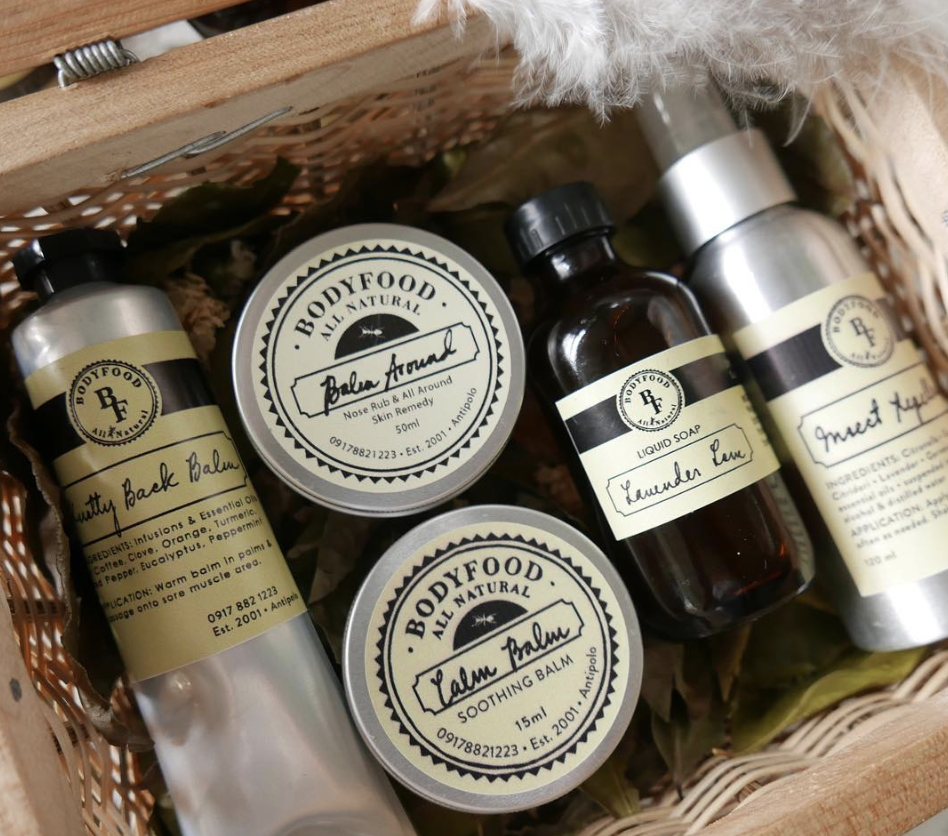 - Only the best for you and the kids! Ana of Body Food All Natural is a straight up modern day medicine woman. She has perfected the art of finding the earth's greatest elements and created Body Food.Her Balm Around is my favorite.